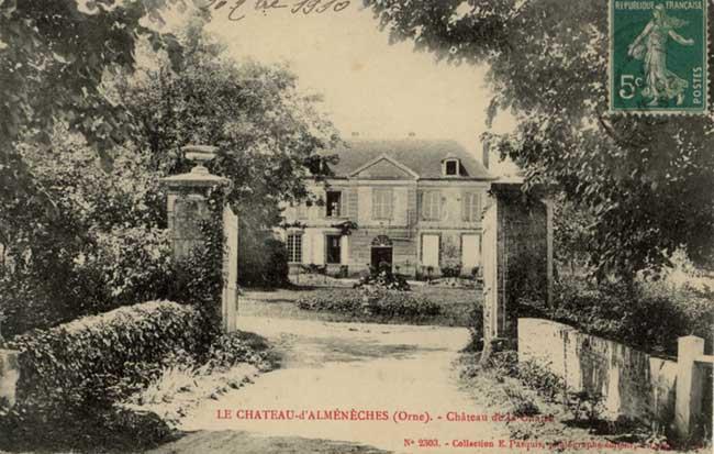 Autour d 39 almeneches le ch teau de jean marie vendel for Chateau de la chaise